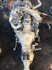 2RZ EFI engine with gear box